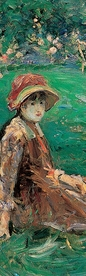 Berthe Morisot: In the Garden at Maurecourt Bookmark