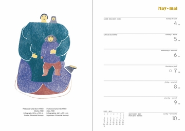 Inuit Art: Cape Dorset 2020 Engagement Calendar