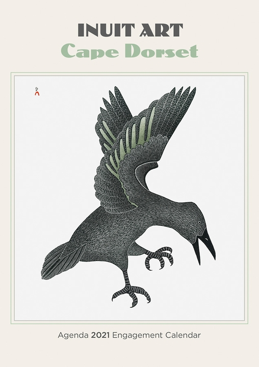 Inuit Art: Cape Dorset Agenda 2021 Engagement Calendar