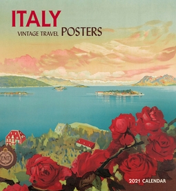 Italy: Vintage Travel Posters 2021 Wall Calendar