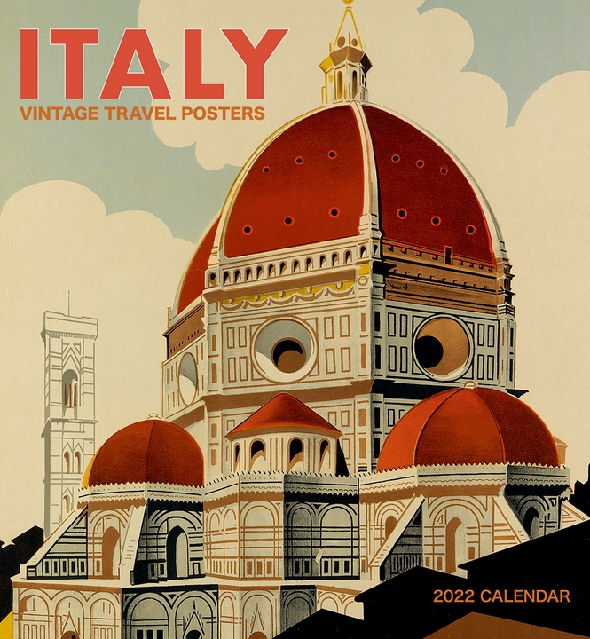 Italy: Vintage Travel Posters 2022 Wall Calendar