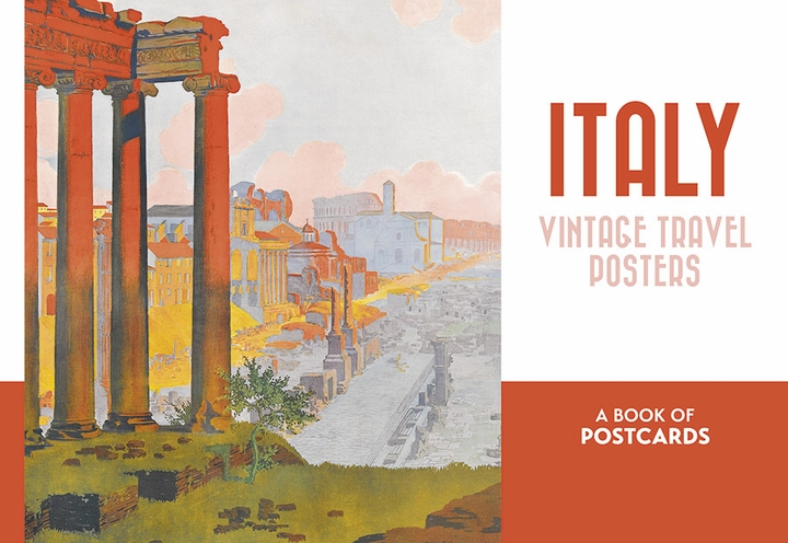 Italy: Vintage Travel Posters Book of Postcards