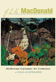 J. E. H. MacDonald Notecard Folio