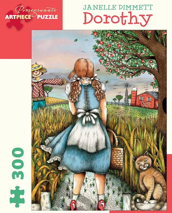 Janelle Dimmett: Dorothy 300-piece Jigsaw Puzzle