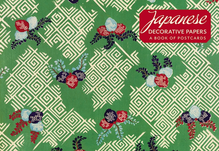 Japanese Decorative Papers Book of Postcards