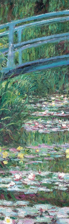 Claude Monet: The Japanese Footbridge Bookmark