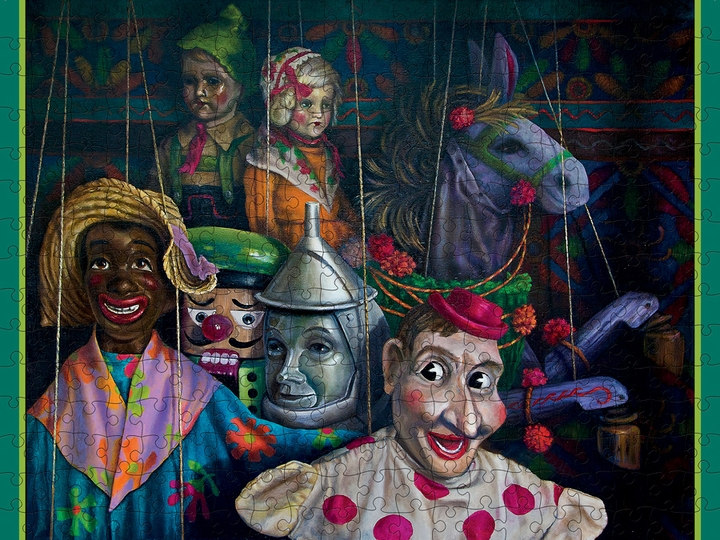Jay Burch: Puppets & Marionettes 300-piece Jigsaw Puzzle