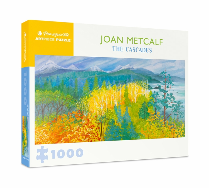 Joan Metcalf: The Cascades 1000-Piece Jigsaw Puzzle