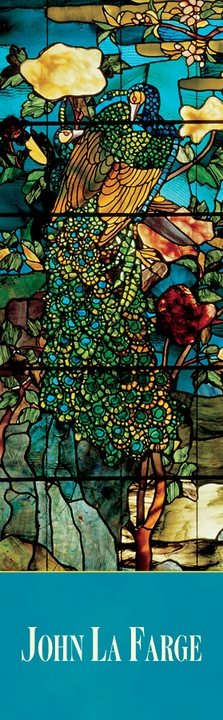 John La Farge: Peacocks and Peonies II Bookmark