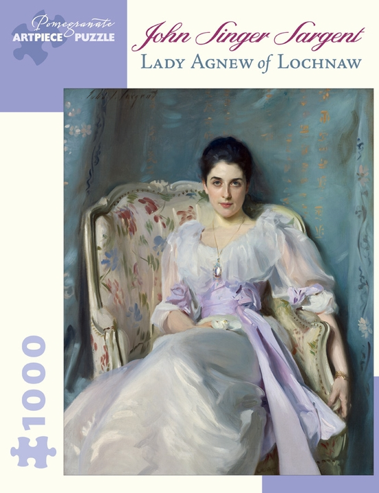 John Singer Sargent: Lady Agnew of Lochnaw 1,000-piece Jigsaw Puzzle