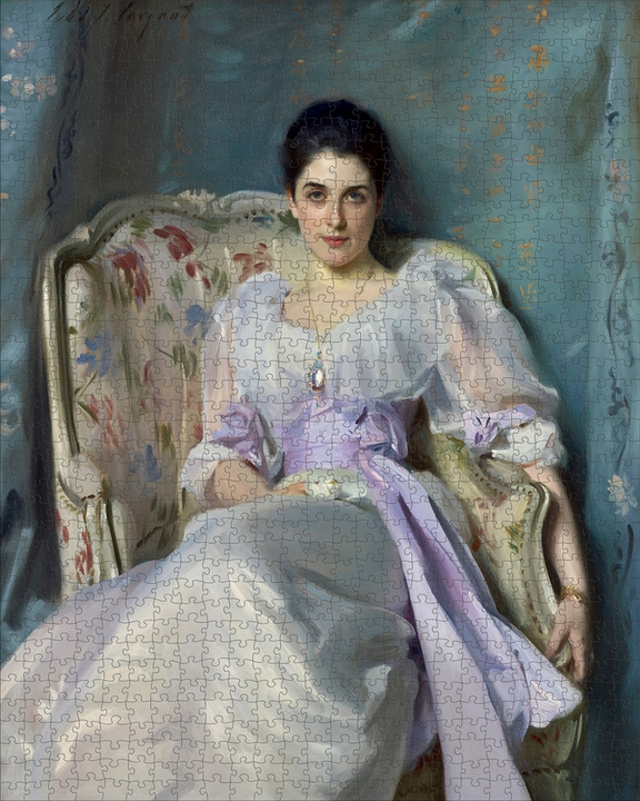 John Singer Sargent: Lady Agnew of Lochnaw 1000-piece Jigsaw Puzzle