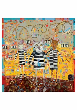 Kathy DeZarn Beynette: Ray the Prison Cat