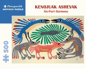 Kenojuak Ashevak: Six-Part Harmony 500-Piece Jigsaw Puzzle