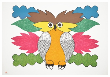 Kenojuak Ashevak: Spirit of the Owl Birthday Card