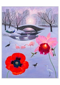 L.C. Armstrong: Dawn Over Duck Pond Holiday Cards