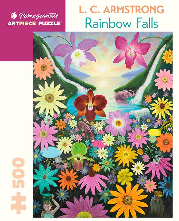 L. C. Armstrong: Rainbow Falls 500-Piece Jigsaw Puzzle