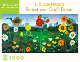L. C. Armstrong: Sunset Dog's Dream 1000-Piece Jigsaw Puzzle
