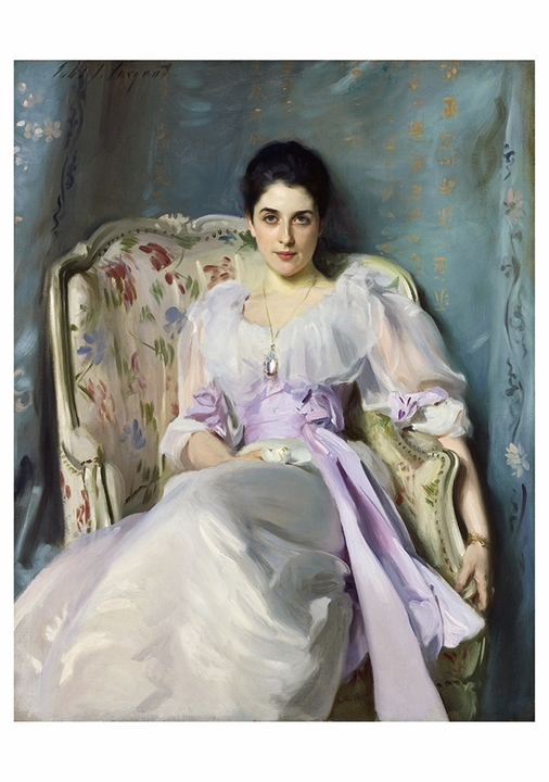 John Singer Sargent: Lady Agnew of Lochnaw Notecard