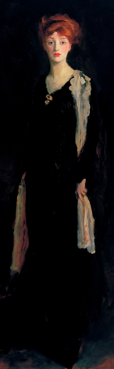Robert Henri : Lady in Black Bookmark