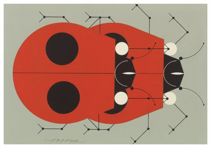 Charley Harper: Ladybugs Boxed Notecards