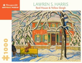 Lawren S. Harris: Red House and Yellow Sleigh 1000-Piece Jigsaw Puzzle
