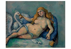 Paul Cézanne: Leda and the Swan Notecard