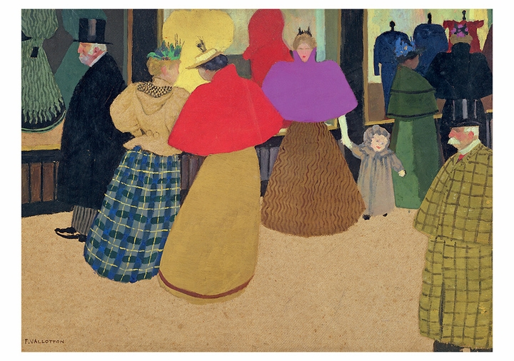 Félix Vallotton: The Passers-by Notecard