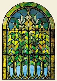 Louis Comfort Tiffany: Lily Window Notecard