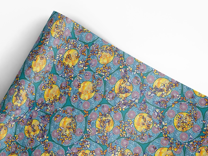 Louis Comfort Tiffany Gift Wrap