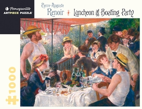 Pierre-Auguste Renoir: Luncheon of the Boating Party 1000-piece Jigsaw Puzzle
