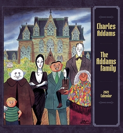 Charles Addams: The Addams Family 2021 Wall Calendar