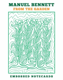 Manuel Bennett: From the Garden Embossed Boxed Notecards