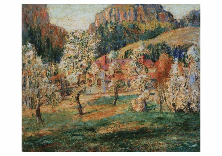 Ernest Lawson: May in the Mountains Notecard