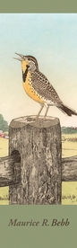 Maurice R. Bebb: Meadowlark Bookmark