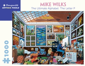 Mike Wilks: The Ultimate Alphabet: The Letter P 1000-piece Jigsaw Puzzle