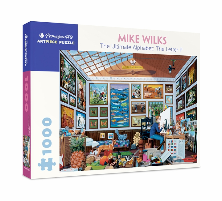 Mike Wilks: The Ultimate Alphabet: The Letter P 1,000-piece Jigsaw Puzzle