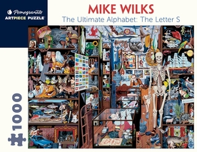 Mike Wilks: The Ultimate Alphabet: The Letter S 1000-piece Jigsaw Puzzle