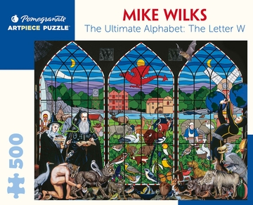 Mike Wilks: The Ultimate Alphabet: The Letter W 500-Piece Jigsaw Puzzle