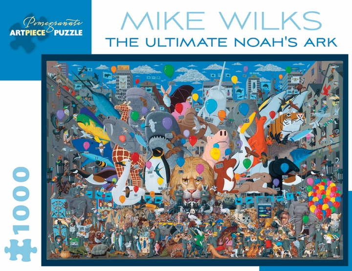 Mike Wilks: The Ultimate Noah's Ark 1,000-piece Jigsaw Puzzle