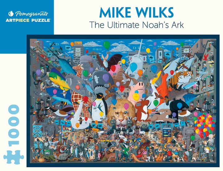 Mike Wilks: The Ultimate Noah's Ark 1000-piece Jigsaw Puzzle