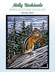 Molly Hashimoto: Birds & Other Wildlife Coloring Book