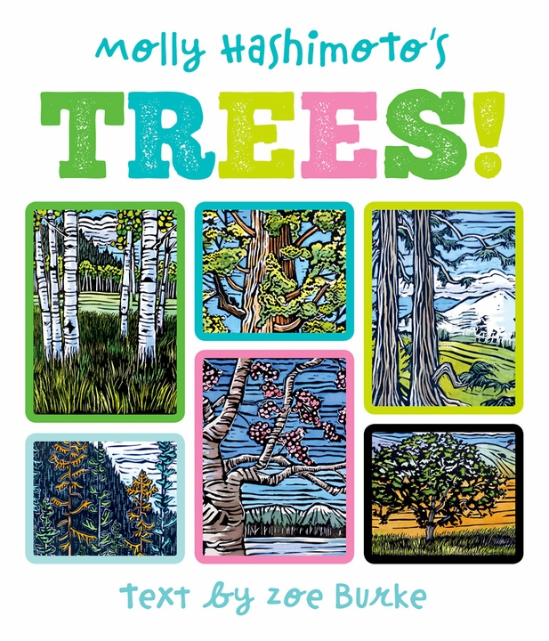 Molly Hashimoto's Trees! Board Book