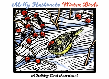 Molly Hashimoto: Winter Birds Holiday Card Assortment