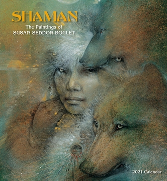 Shaman: The Paintings of Susan Seddon Boulet 2021 Wall Calendar