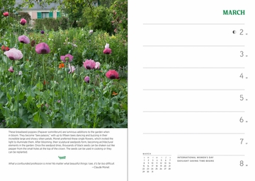 Monet's Passion: The Gardens at Giverny 2020 Engagement Calendar