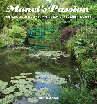 Monet's Passion: The Gardens at Giverny 2021 Mini Wall Calendar