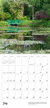Monet's Passion: The Gardens at Giverny 2021 Wall Calendar
