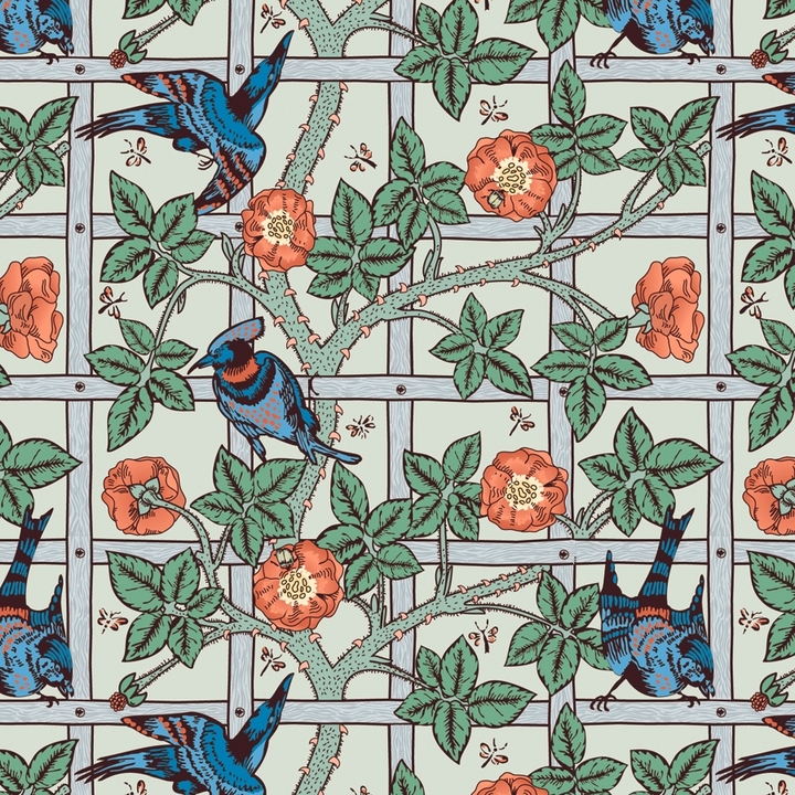 William Morris Designer Gift Wrap