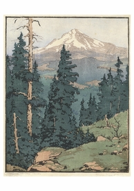 Mt. Hood, Oregon Notecard
