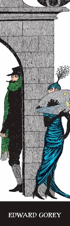 Edward Gorey: Mystery! Bookmark
